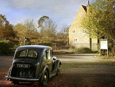 Photograph - Vintage Austin 14  by Stephen Norris