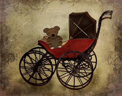 Photograph - Vintage Baby Carriage by TnBackroadsPhotos