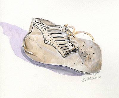 Vintage Baby Shoe Original by Sheryl Heatherly Hawkins