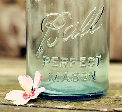 Photograph - Vintage Ball Perfect Mason by Terry DeLuco