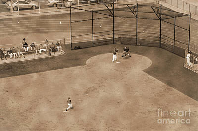 Photograph - Vintage Baseball Playing by RicardMN Photography