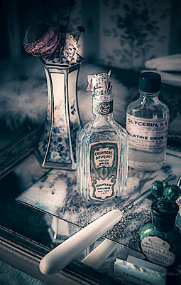 Photograph - Vintage Beauty Items by Julie Palencia