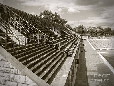 Photograph - Vintage Berlin Olympic Swimmingstadium by Art Photography