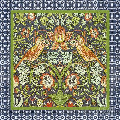 Vintage Birds-jp2318 Original by Jean Plout