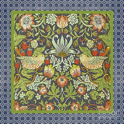 Vintage Birds-jp2319 Original by Jean Plout
