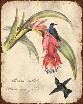 Vintage Bird Study-i Original