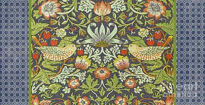 Vintage Birds-jp2316 Original by Jean Plout