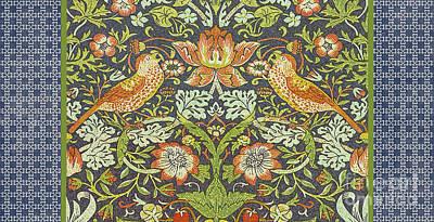 Vintage Birds-jp2317 Original by Jean Plout