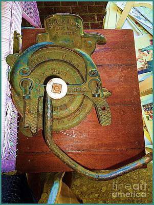 Photograph - Vintage Black Hawk Tool by Saundra Myles