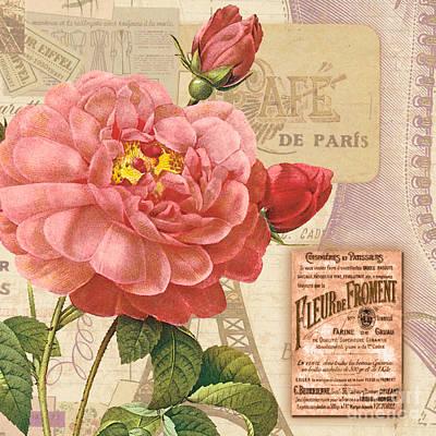 Botanicals Mixed Media - Vintage Botanical II by Marilu Windvand