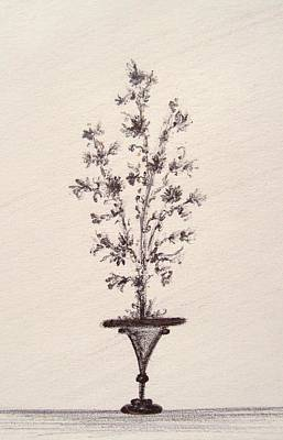 Drawing - Vintage Bouquet by Christine Corretti