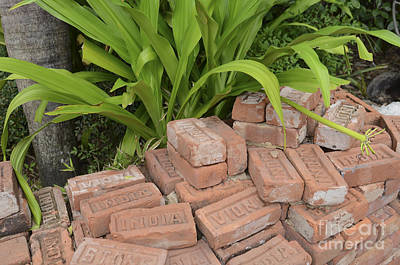 Photograph - Vintage Brick by Dale Powell