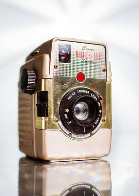 Brownie Photograph - Vintage Brownie Bullseye Camera by Jon Woodhams