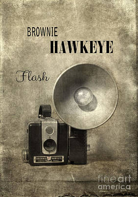 Photograph - Vintage Brownie Camera by Jill Battaglia