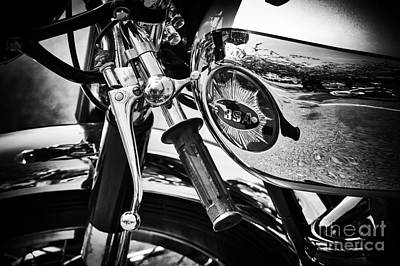 Photograph - Vintage Bsa by Tim Gainey
