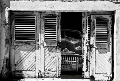 Car Abstract Wall Art - Photograph - Vintage Buick Eight by Larry Butterworth