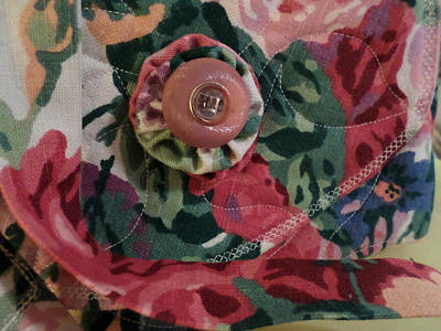 Photograph - Vintage Button by Ginny Schmidt