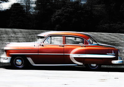 Transportation Photograph - Vintage By Bel Air  by Steven  Digman