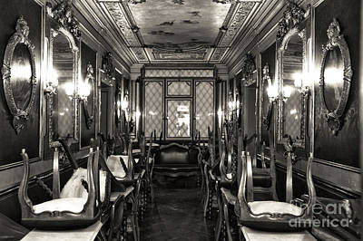 Photograph - Vintage Cafe Florian by John Rizzuto