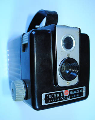Photograph - Vintage Camera by Robert  Moss