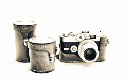 Photograph - Vintage Camera by Tony Grider