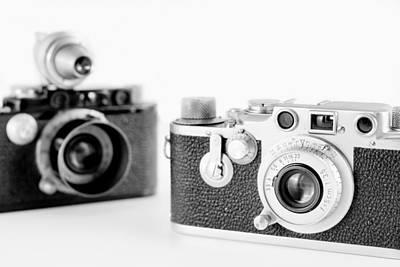 Shark Art - Vintage Cameras by Chevy Fleet