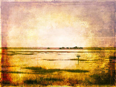 Photograph - Vintage Warm Sunrise Sunset Image Art By Jo Ann Tomaselli by Jo Ann Tomaselli