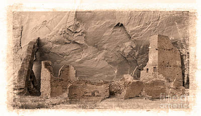 Art Print featuring the photograph Vintage Canyon De Chelly by Jerry Fornarotto