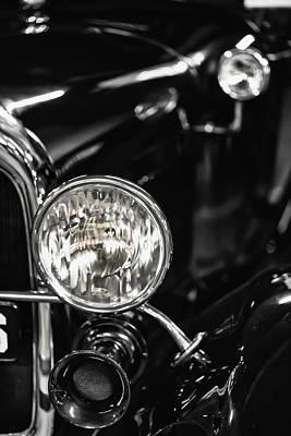 Photograph - Vintage Car 01 by Edgar Laureano