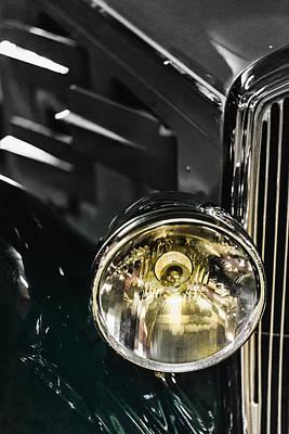 Photograph - Vintage Car 02 by Edgar Laureano