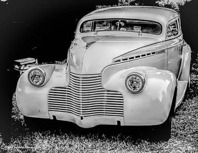 Photograph - Vintage Car  by Debra Forand