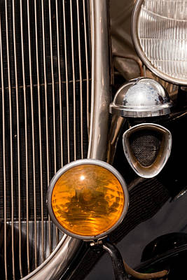 Photograph - Vintage Car Details 6294 by Brent L Ander