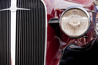 Photograph - Vintage Car Details 6297 by Brent L Ander