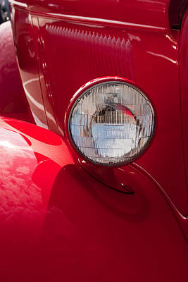 Photograph - Vintage Car Details 6298 by Brent L Ander