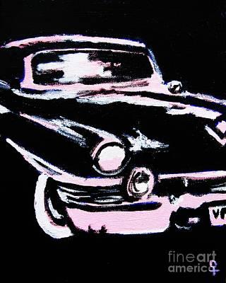 Vintage Car Original by Venus Art