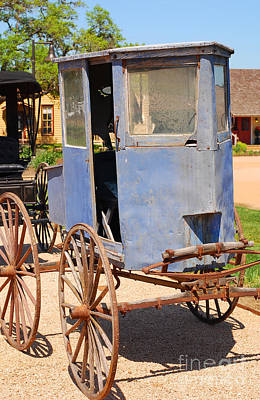 Photograph - Vintage Carriages  by Connie Fox