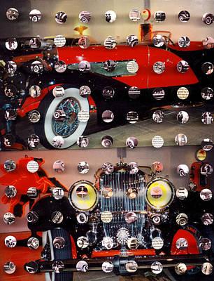 Mixed Media - Vintage Cars1 by Irmari Nacht