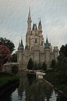 Photograph - Vintage Castle by Michael Porchik