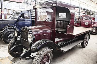 Vintage Chevrolet Pickup Truck Print by Douglas Barnard