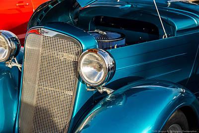 Photograph - Vintage Chevrolet by Teresa Blanton