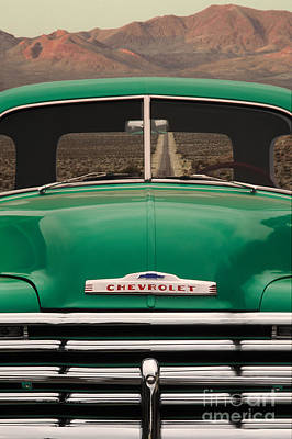 Vintage Chevy Truck Art Print by Ron Sanford