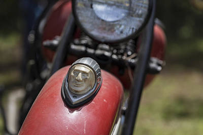 Indian Motorcycle Company Photograph - Vintage Chief by Andrew Pacheco