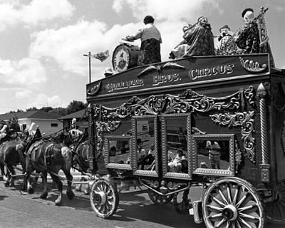Vintage Circus Wagon Art Print