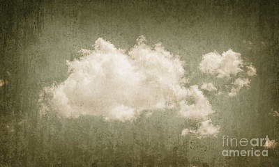 Photograph - Vintage Clouds Background by Jorgo Photography - Wall Art Gallery