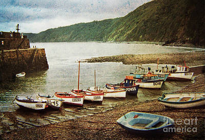 Photograph - Vintage Clovelly by Deborah Smith