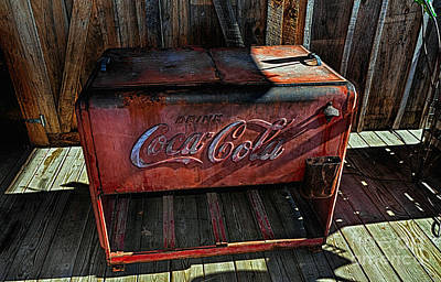Vintage Coca-cola Art Print by Paul Mashburn