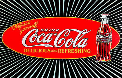 Cocacola Photograph - Vintage Coke by Bill Cannon