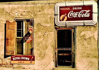 Orange Crush Photograph - Vintage Colas by Benjamin Yeager
