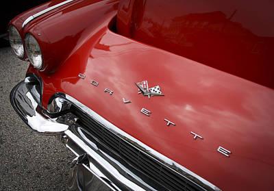 Photograph - Vintage Corvette by Patrice Zinck