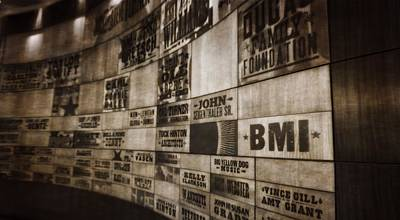 Vintage Country Music Hall Of Fame Wall Art Print by Dan Sproul